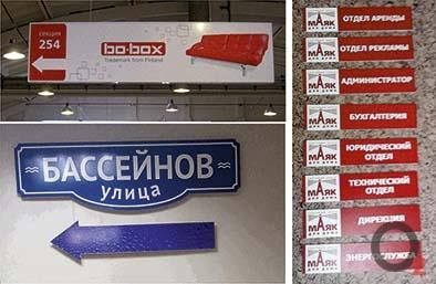 Навигационные вывески Челябинск
